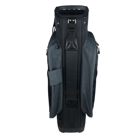 Padded adjustable shoulder strap and back handle