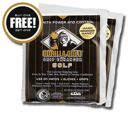 Gorilla Gold Package Buy-One Get-One FREE