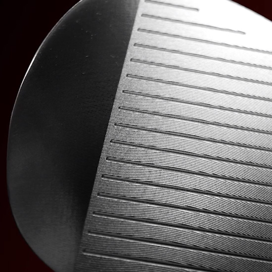 Precision milled, perfectly flat face and U-grooves  outplays and outperforms clubs produced with less stringent methods.